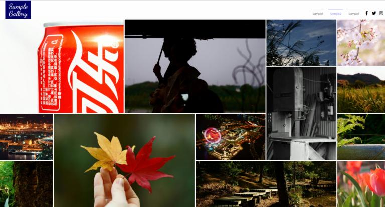 The featured image of 写真ギャラリー用のテストページを作りました
