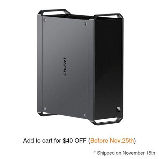 The featured image of CHUWIの「CoreBox Pro」を購入!DeskMini並みの超小型PC!